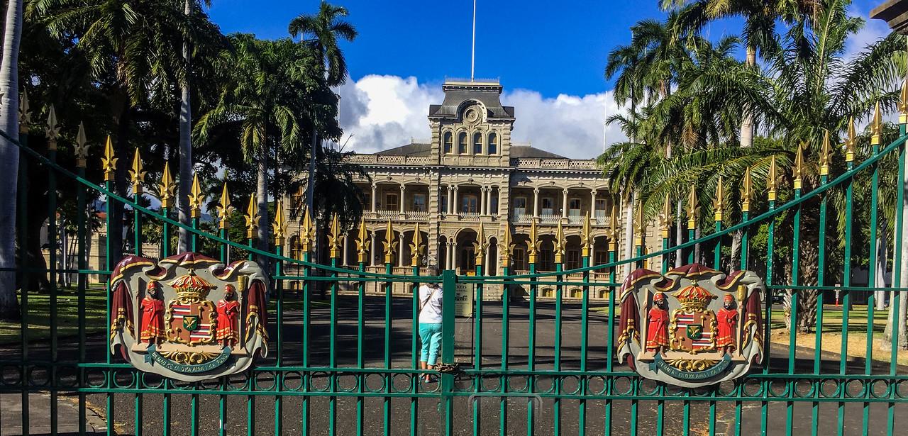 Hawaii 2017; The Royal Palace, Oahu: Waikiki and Honolulu