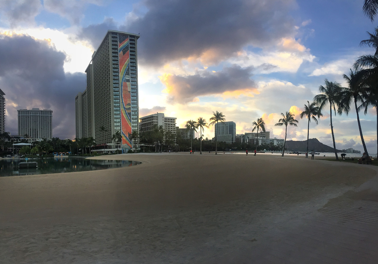 Hawaii 2017; Hilton Hawaiian Village. Oahu: Waikiki and Honolulu