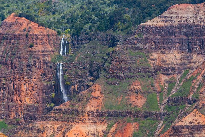 Another View of Waipoo Falls - Waimea Canyon