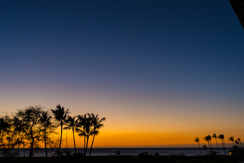 Another Sunset from our Big Island Patio