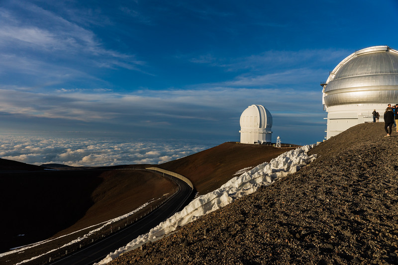 Mauna Kea Summit and Observatories