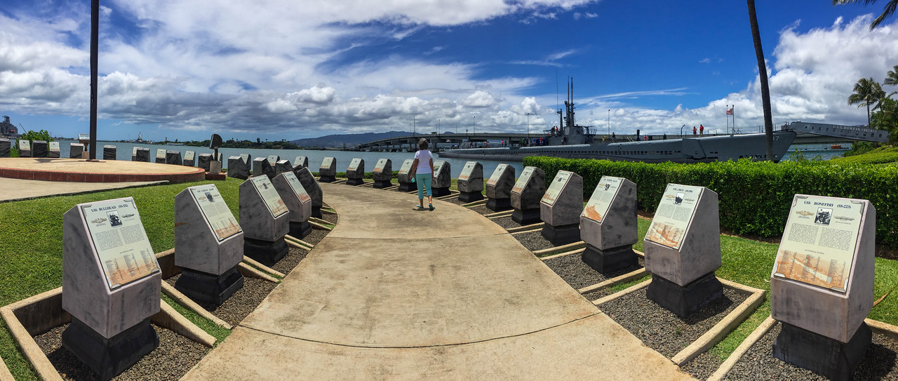 Hawaii 2017; Pearl Harbor and USS Arizona Memorial. Oahu: Waikiki and Honolulu