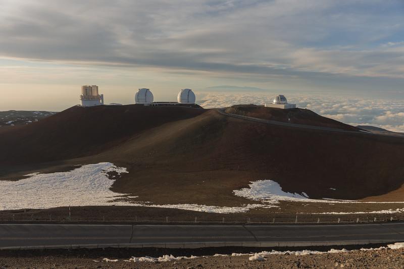 Mauna Kea Summit and Observatories