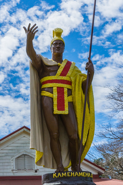 King Kamehameha 1st in Hawi