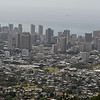 Panoramic View of Honolulu from Mount Tantalus