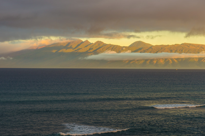 Morning view from our Maui Condo