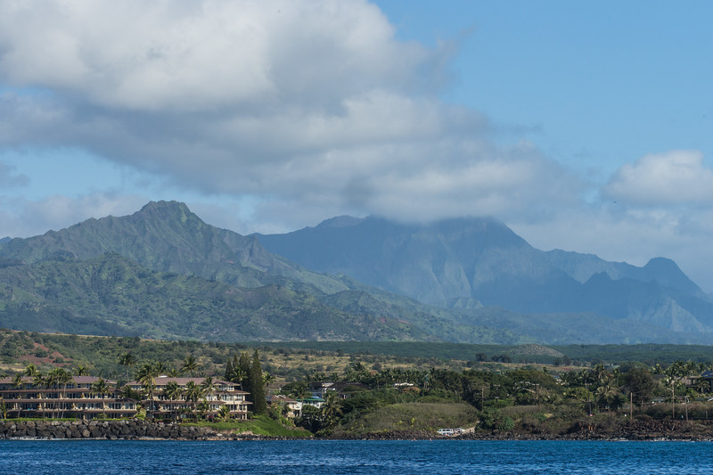 View of Our Kauai Condo from the Water