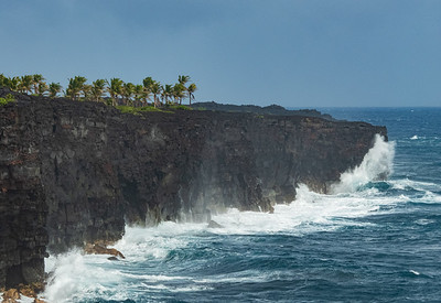Southern Coastline of Volcanoes National Park