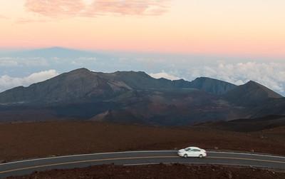 Haleakala's shadow