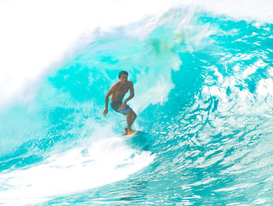 Surfing Pipe
