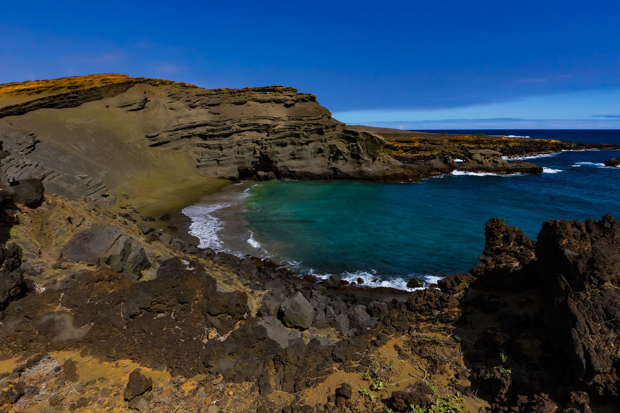 Green Sands beach.