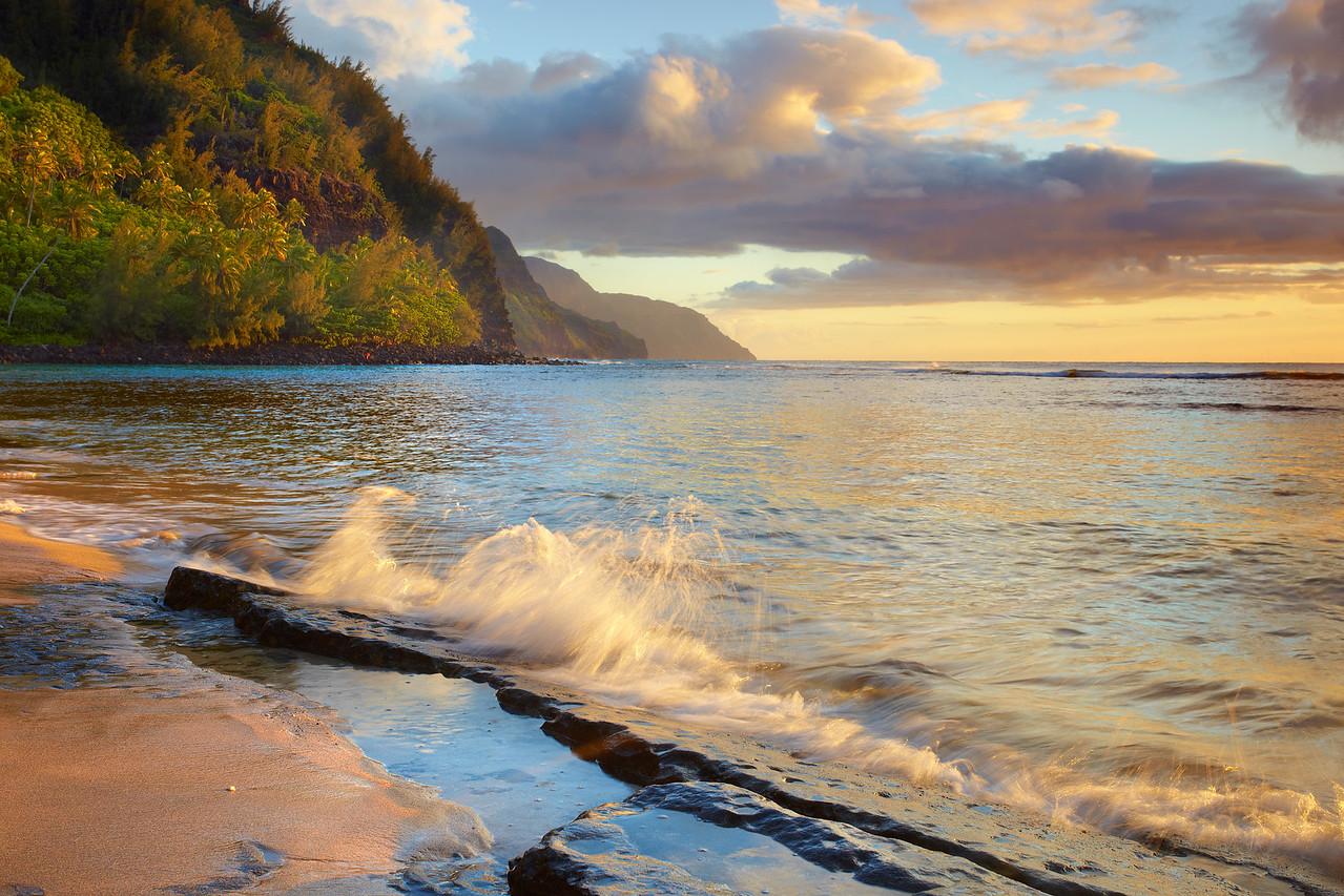 Kee Sumnmer - Kee Beach, Kauai, Hawaii