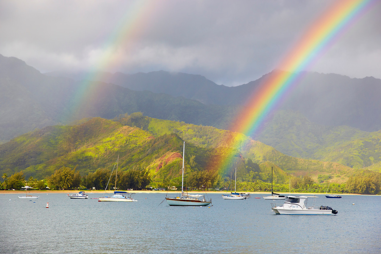 Double Happiness - Hanalei, Kauai
