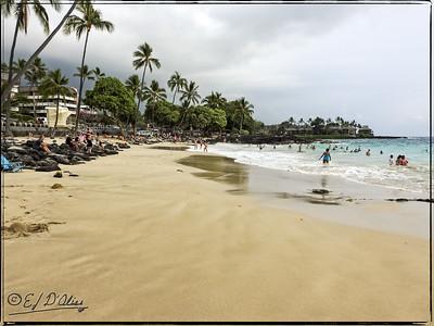 Magic Sands Beach Park Hawaii Big Island
