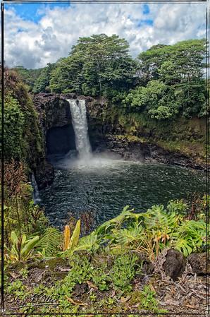 Rainbow and Akaka Falls