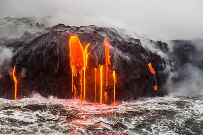 Kilauea Volcano lava flow 61G #1
