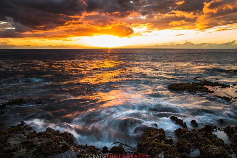 Ohikilolo Sunset, Oahu, HI #10