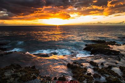 Ohikilolo Sunset, Oahu, HI #11
