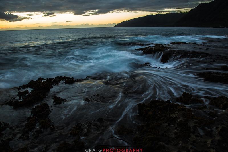 Ohikilolo Sunset, Oahu, HI #7