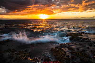 Ohikilolo Sunset, Oahu, HI #4