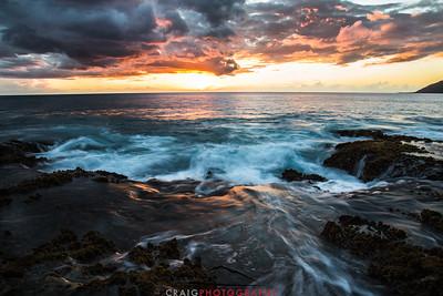 Ohikilolo Sunset, Oahu, HI #6