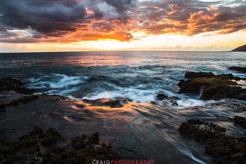 Ohikilolo Sunset, Oahu, HI #9