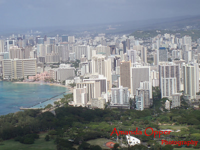 Honolulu from Diamondhead
