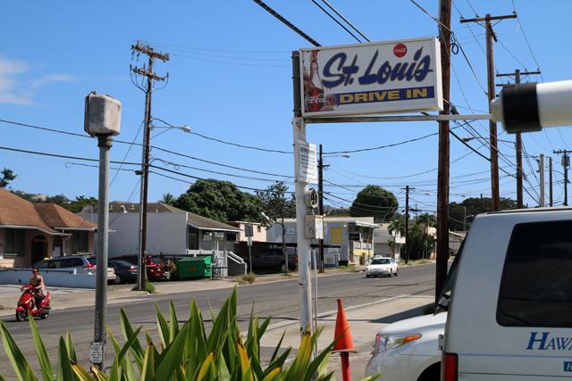 St. Louis Drive In, Honolulu, Hawaii
