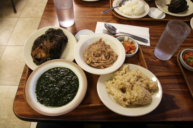 Hawaiian Plate at Peoples Cafe