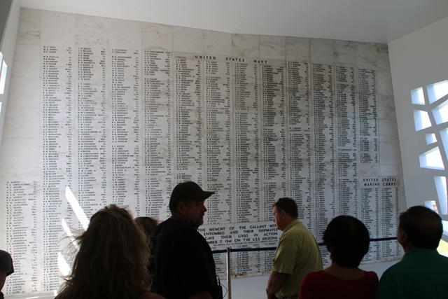 At the memorial