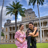 Michael Ke Anuenue Goodrich and Kristen Kelani Tibourtine show that they have the moxie to co-host the TV show, Honolulu Needs.