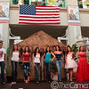 "One final shot with all the models at the 4th of July's ""Red,  White and Blue Fashion Show"" at Aloha Tower Marketplace."