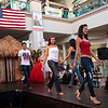 The theme was Red, White and Blue for the 4th of July at Aloha Tower Marketplace and the dress was casual and comfortable.