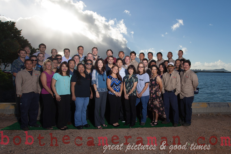 IMG_8504-Trane Commercial Systems Oahu-team picture-Ingersoll Rand Climate Control Technologies-Lagoon Drive-June 2015