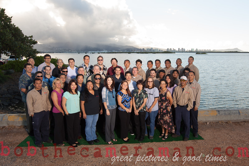 IMG_8490-Trane Commercial Systems Oahu-team picture-Ingersoll Rand Climate Control Technologies-Lagoon Drive-June 2015