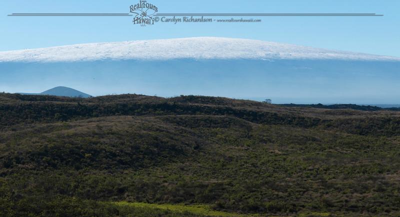 Mauna Loa in Snow