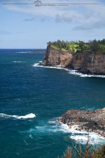 Cliffs on North Kohala Coast