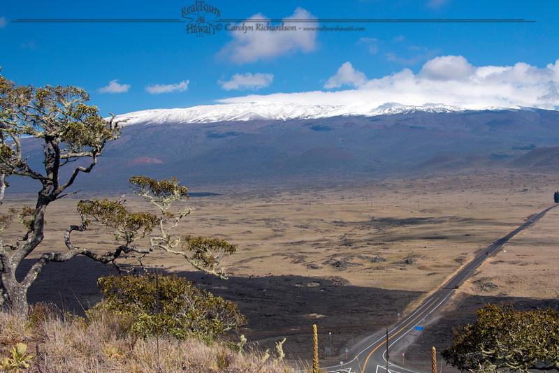 Mauna Kea in Snow