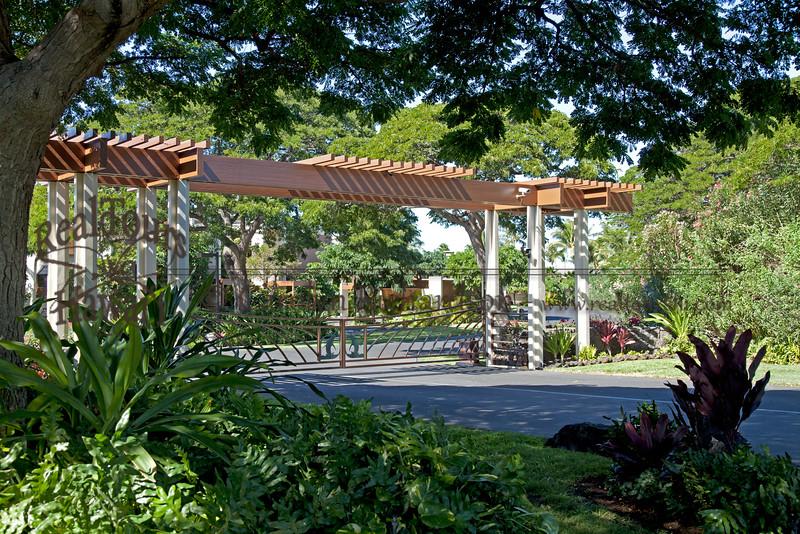 Mauna Lani Terrace Gate