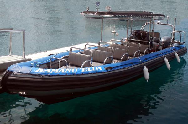 5213 Raft - Night Manta Ray Snorkel - Kamanu Charters Inc.