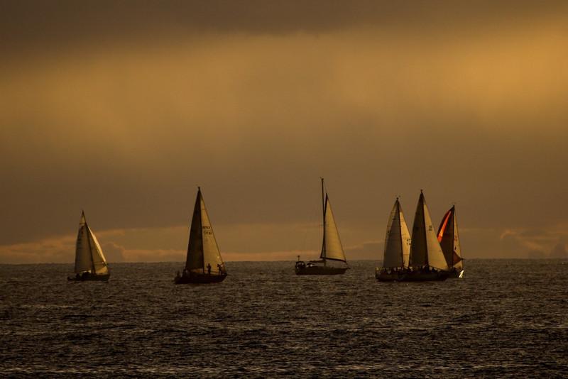 Oahu regatta.