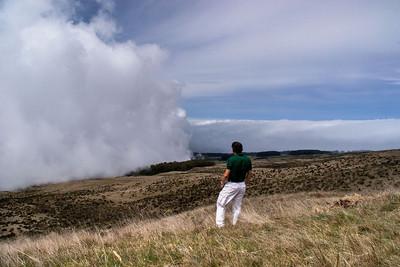 Haleakala atop Maui, Hawaii.