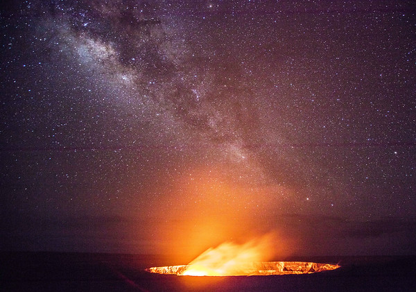 Hawaii non-diving, volcano