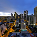 Morning in Honolulu Hawaii
