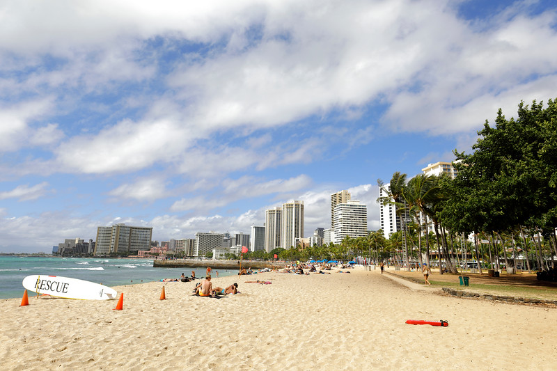 Waikiki Beach Hawaii vacation destination