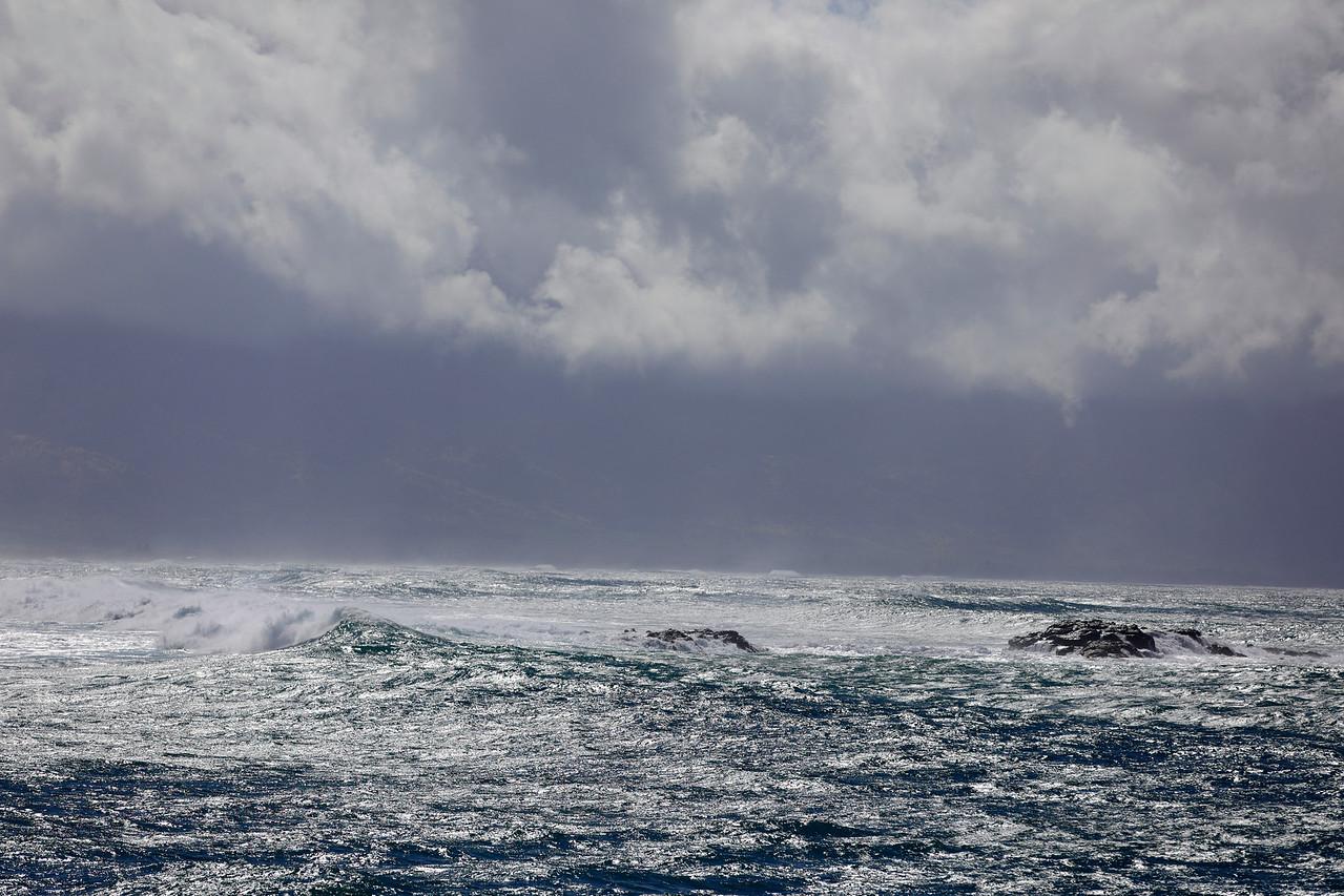 Hurricane in Hawaii