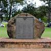 Roll of Honor plaque in Kapiolani Regional Park Honolulu Hawaii