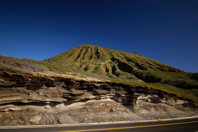 Volcanic mountain in Hawaii
