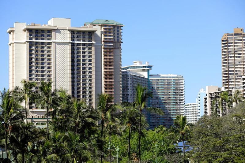 Residential condominiums in Honolulu Hawaii