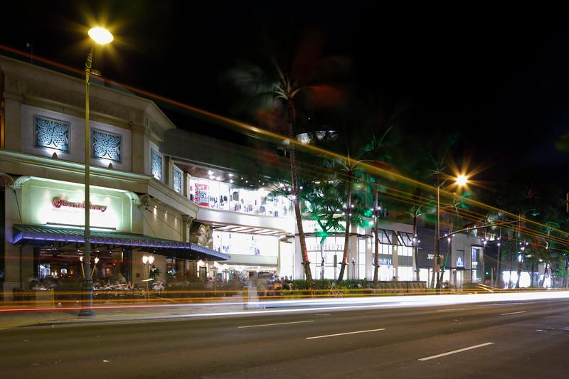 Shops at the Royal Hawaiian Center Oahu